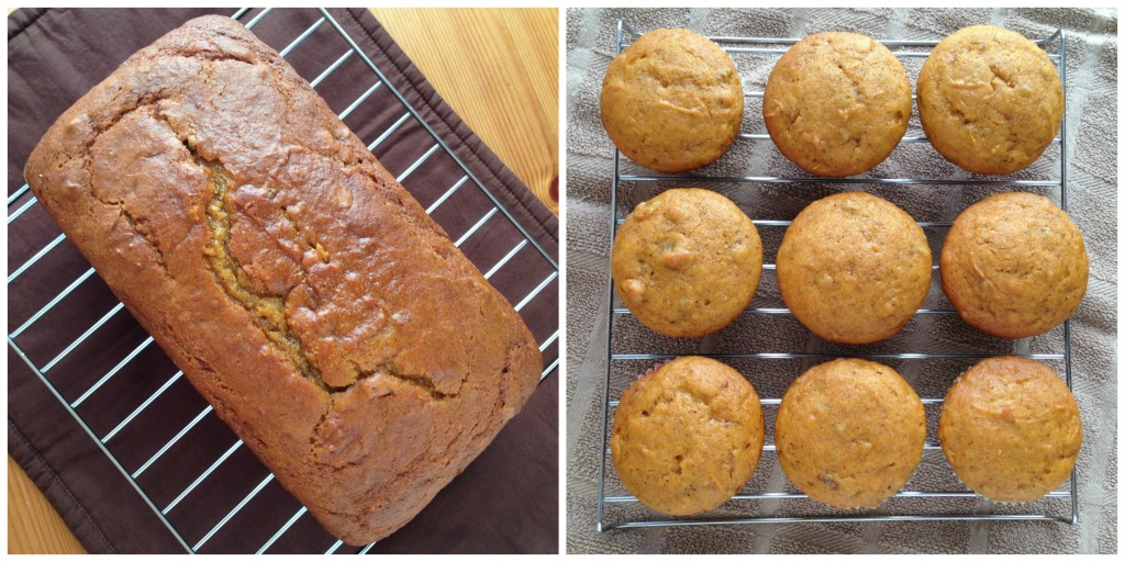 Arlene's Pumpkin Bread and Muffins