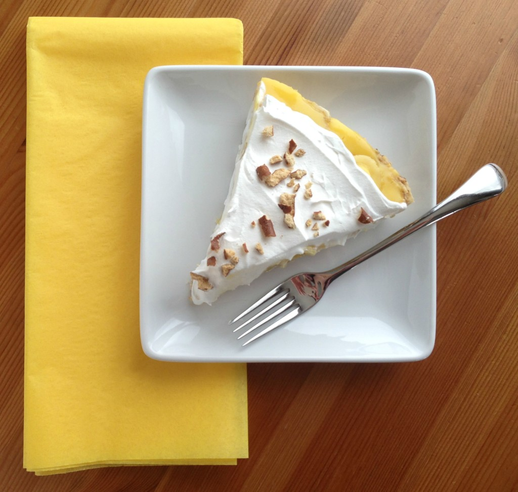 Banana Cream Pie with Pretzel Crust